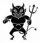 Devil  Vector Illustration — Stock Vector