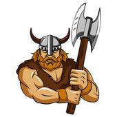 Viking Axe — Stock Vector