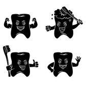 Símbolo del diente — Vector de stock