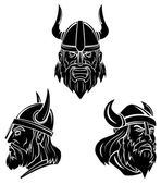 Tattoo Symbol Of Viking — Stock Vector