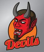 Devils mascot — Stock Vector