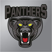 Panther mascot — Stock Vector