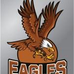 Постер, плакат: Eagles Mascot