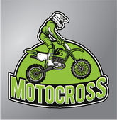Motocross — Vector de stock