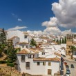View of a city of ronda from a balcony, spain — Stock Photo #56014767