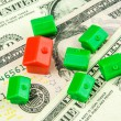Growth of prices in real estate business — Stock Photo #72894367