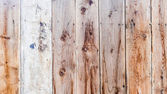 Lath wooden fence — Stock Photo