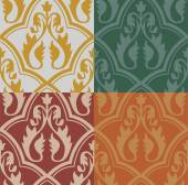 Medieval Seamless Pattern — Stock Vector