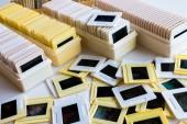 Photo archive of 35mm film slides — Foto de Stock