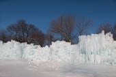 Wall of Ice Castle — Foto de Stock
