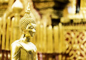 Buddha Statue in Imperial Palace, Bangkok, Thailand — Stock Photo