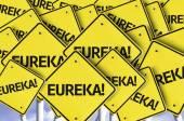 Eureka written on multiple road sign — Stock Photo