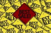 Best Sale! written on multiple road sign — Stock Photo
