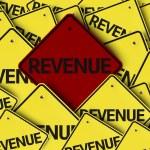 Revenue written on multiple road sign — Stock Photo #54401413