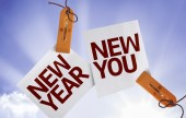 New Year New You on Paper Note — Stock Photo