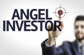 Businessman with text: Angel Investor — Stock Photo