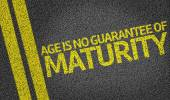 Age is No Guarantee Of Maturity — Stock Photo