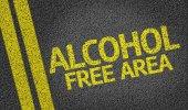 Alcohol Free Area — Stock Photo