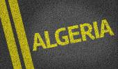 Algeria written on road — Stock Photo