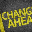 Changes Ahead written on road — Stock Photo #54640723