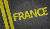France written on the road — Stock Photo