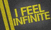 I Feel Infinite — Stock Photo