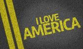 I Love America — Stock Photo