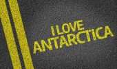 I Love Antarctica — Stock Photo