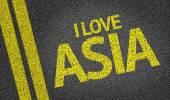 I Love Asia — Stock Photo