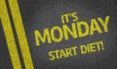 It's Monday, Start Diet! — Stock Photo
