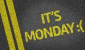 It's Monday :( — Stock Photo