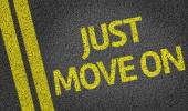 Just Move On — Stock Photo