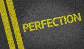 Perfection written on the road — Stock Photo
