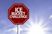 Ice Bucket Challenge red sign — Stock Photo
