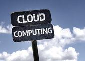 Cloud Computing  sign — Stock Photo