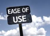 Ease of Use sign — Stock Photo