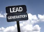 Lead Generation sign — Stock Photo