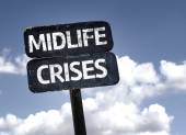 Midlife Crises sign — Stock Photo
