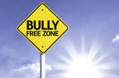 Bully Free Zone road sign — Stock Photo