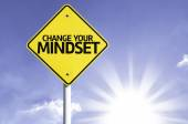 Change your Mindset road sign — Stock Photo