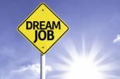 Dream Job road sign — Stock Photo