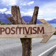 Positivism wooden sign — Stock Photo #54775007
