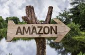 Amazon  wooden sign — Stock Photo