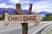 Challenge sign — Stok fotoğraf