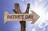 Patriot Day wooden sign — Stock Photo