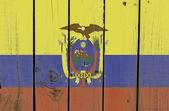 Ecuador-flag — Stockfoto