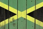Bandeira de jamaica — Fotografia Stock