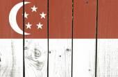Singapore flag — Stock Photo