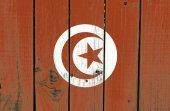 Tunisia flag — Stock Photo