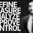The Text Define Measure Analyze Improve Control — Stock Photo #55198603